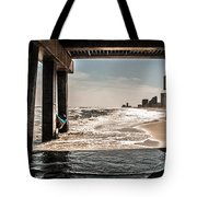 Champagne Surf  Tote Bag by Kim Loftis