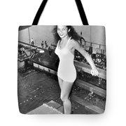 Champion Diver Vicki Draves Tote Bag