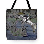 Champion Horse Jumper Tote Bag