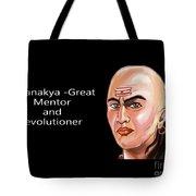Chanakya The Great Tote Bag