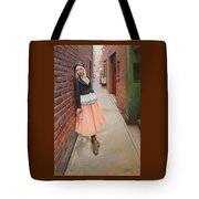 Chance Meeting In Fan Tan Alley Tote Bag