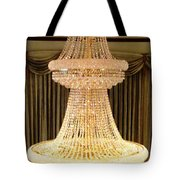 Chandelier Hanging Tall Tote Bag