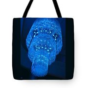 Chandelier In Blue 1 Tote Bag