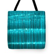 Chandelier In Blue 3 Tote Bag