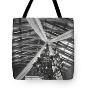 Chandelier In The Rafters Tote Bag