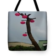 Chandelier On A Tree Tote Bag