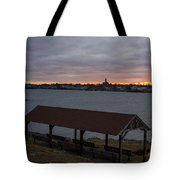 Chandler Hovey Park Sunset Marblehead Ma Tote Bag