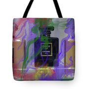 Chanel Coco Abstract Tote Bag