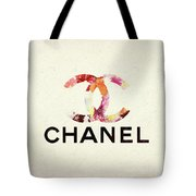 Chanel Floral Texture  Tote Bag