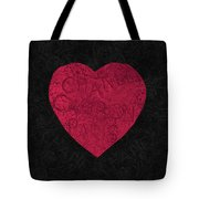 Chanel Heart-1 Tote Bag
