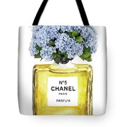 Chanel N.5 Yellow Bottle Tote Bag