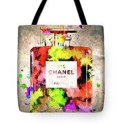 Chanel No. 5 Colored  Tote Bag