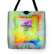 Chanel No.5  Tote Bag