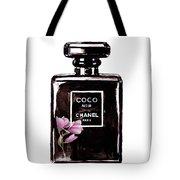 Chanel Noir Magnolia Pink Tote Bag