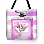 Chanel Pink Flower 5 Tote Bag