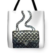 895051540d86dd Chanel Quilted Handbag Classic Watercolor Fashion Illustration Coco Quotes  Tote Bag