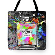 Chanel Rainbow Colors Tote Bag