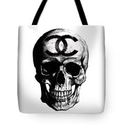 Chanel Skull Black Tote Bag