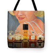 Chanels With Marilyn Monroe Tote Bag