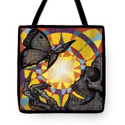 Change Mandala Tote Bag by Deadcharming Art