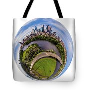 Change Your Perspective Minneapolis White Surround Tote Bag
