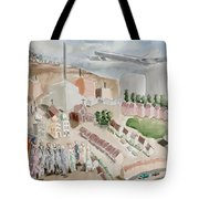 Changing Cityscape Slough Tote Bag