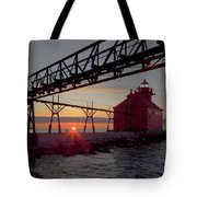 Channel Light, Dawn Tote Bag