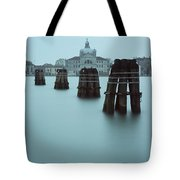 Channel Markers, Venice, Italy Tote Bag