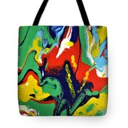 Chaos In Control  Tote Bag