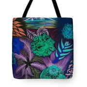 Chaotic Beauty Invert Tote Bag