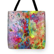 Chaotic Craziness Series 1988.033014 Tote Bag