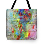 Chaotic Craziness Series 1989.033014 Tote Bag