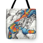 Chaotic Creation Tote Bag