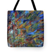 Chaotic Dome Tote Bag