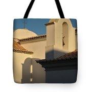 Chapel Architecture In Albufeira Tote Bag