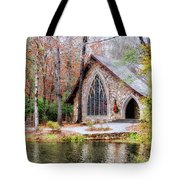 Chapel At Callaway Tote Bag