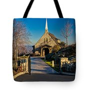 Chapel At Glassy Tote Bag