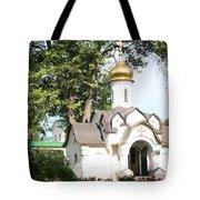 Chapel At Saints Boris And Gleb Tote Bag