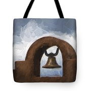 Chapel Bell Chimayo Painterly Effect Tote Bag