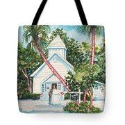 Chapel By The Sea Captiva Tote Bag