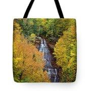Chapel Falls Autumn Upper Peninsula Michigan Tote Bag