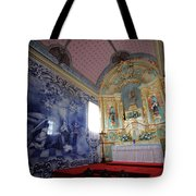 Chapel In Azores Islands Tote Bag