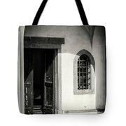 Chapel In Riomaggiore Cinque Terre Italy Bw Tote Bag
