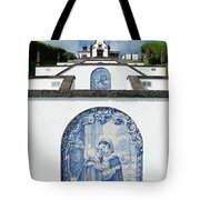 Chapel In The Azores Tote Bag