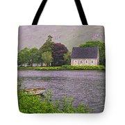 Chapel In The Mist - Gougane Barra - County Cork - Ireland Tote Bag