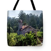 Chapel In The Napa Valley Vineyards Tote Bag