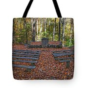 The Chapel In The Park Tote Bag