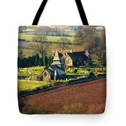 Chapel In The Valley Tote Bag