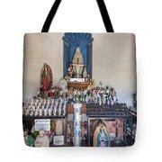 Chapel Mortuary Interior - San Xavier Del Bac Mission - Tucson Arizona Tote Bag