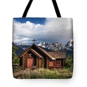 Chapel Of The Transfiguation  Tote Bag